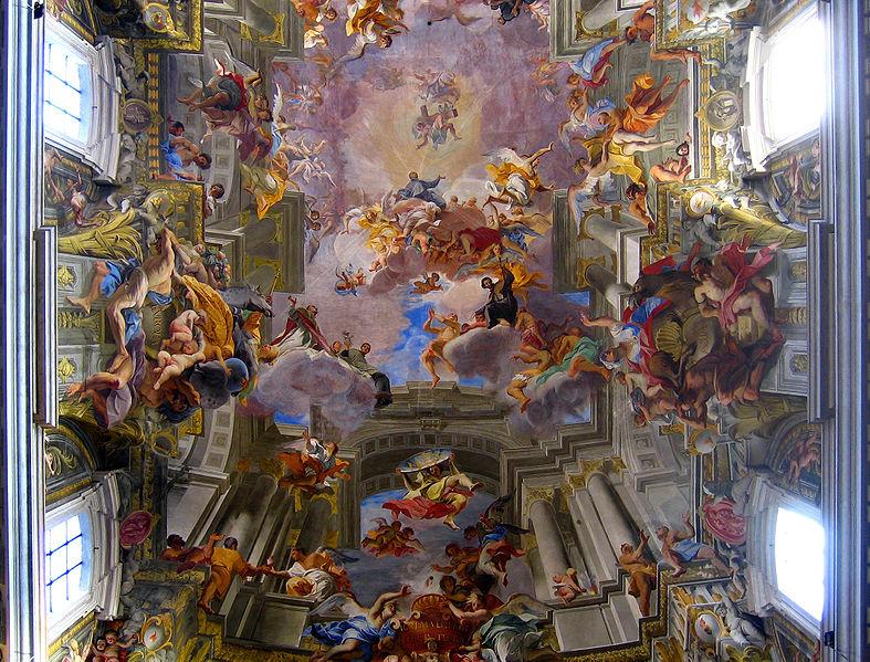 Купол Сант-Иньяцио — триумф барочного иллюзионизма поццо